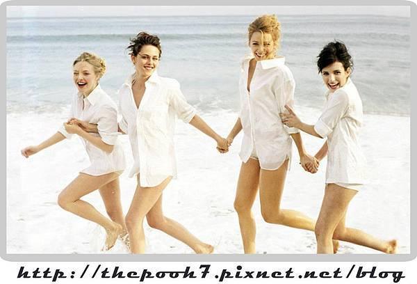 Amanda Seyfried、Christine Stuart、Blake Lively、Emma Roberts