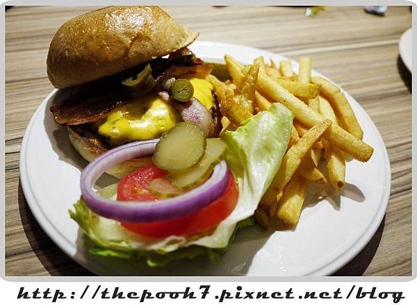 起司培根漢堡 Chess & Bacon Burger (2).jpg