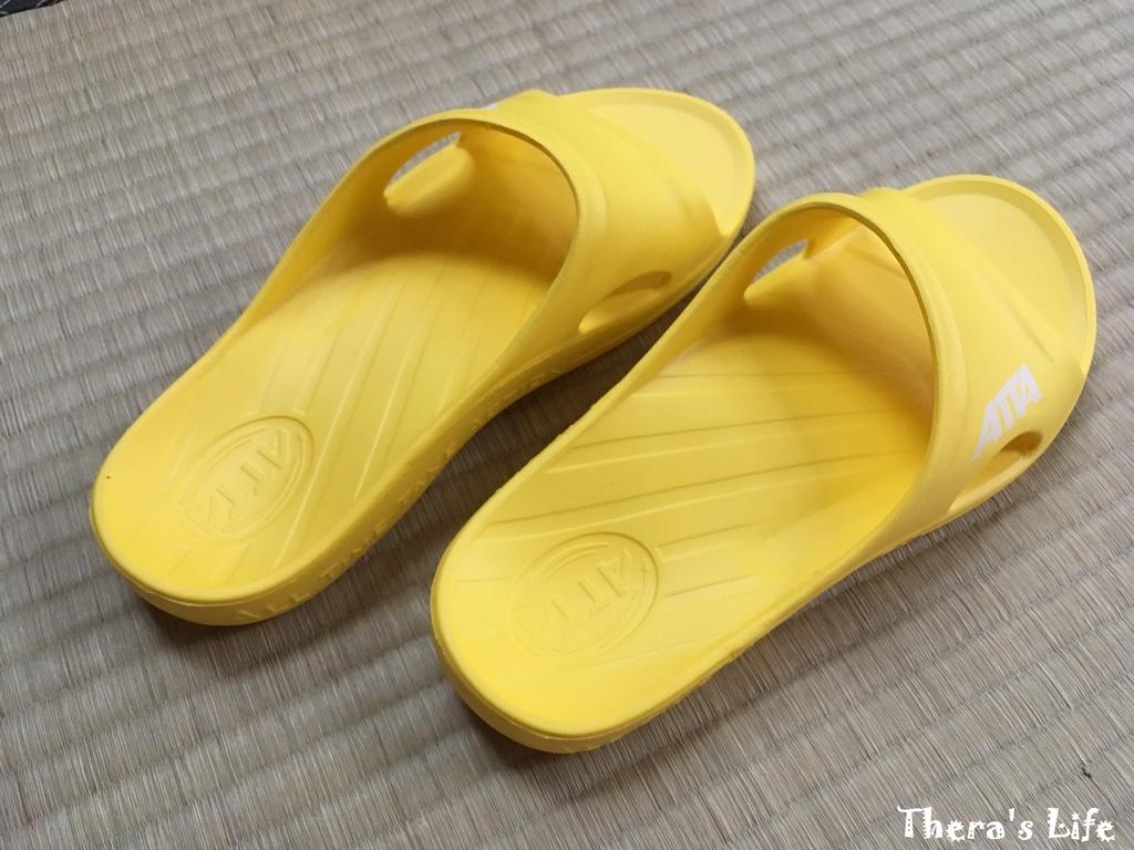 ♥小東西雪兒♥ATTA艾堤堤亞 運動風簡約休閒拖鞋。符合人體工學好穿推薦