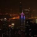 山頂俯視香港夜景