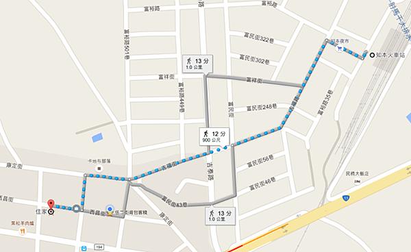 第二條路地圖