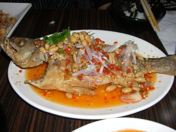 香酥檸檬魚