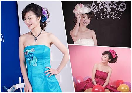 婚紗造型,新秘造型,婚紗寫真,個人婚紗,