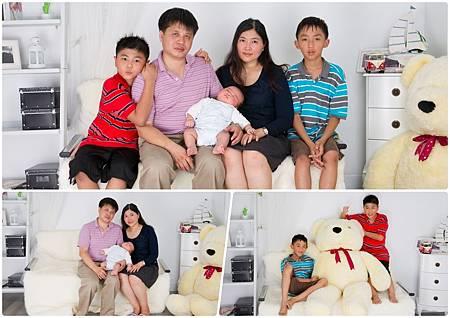 全家福寫真,寶寶寫真,成長紀錄,週年紀念,人像攝影
