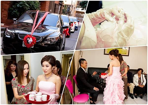 非常婚禮推薦婚攝,奉茶儀式,交換戒指,下聘儀式,