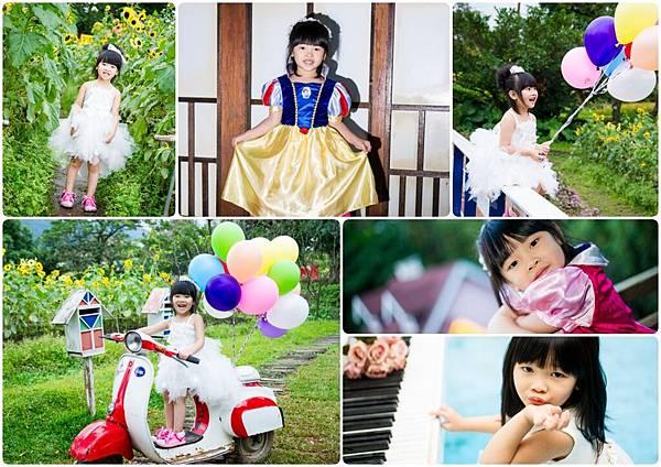 兒童外拍,寶寶外拍,周歲紀念,公主風,
