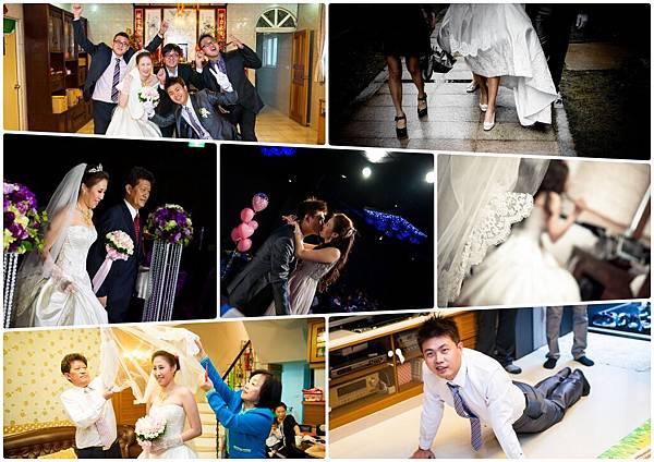 婚宴攝影,迎娶禮俗,踩瓦片,丟扇子,