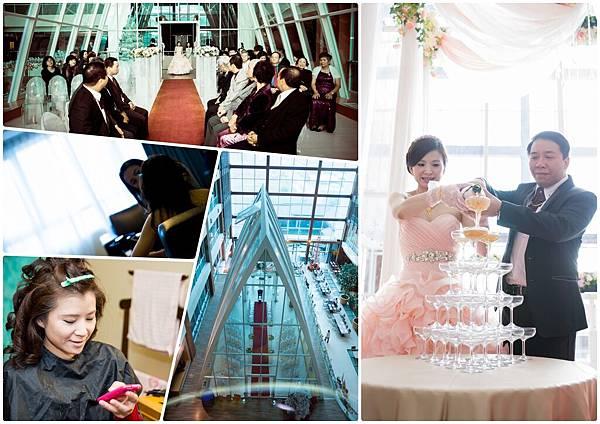 飯店儀式,水晶教堂,婚禮攝影,