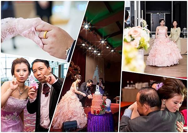 會帶儀式的攝影師,婚禮禮俗,香檳塔