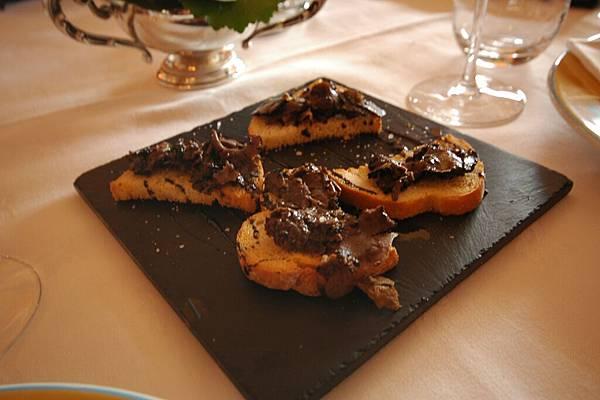米其林餐廳嘗法國美食: 前菜