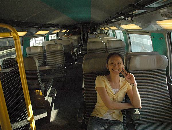 TGV車廂一景