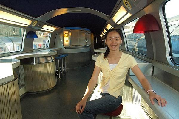 TGV的餐車