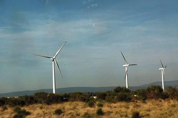 TGV沿途的景色-風力發電車