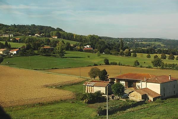 TGV沿途的景色-鄉村