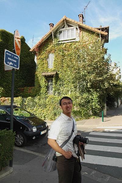 可愛的巴黎住宅
