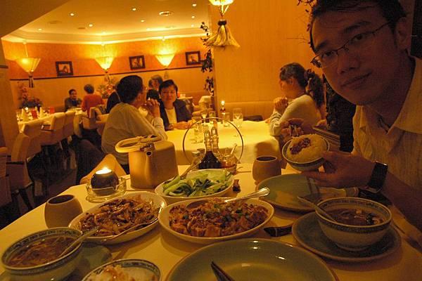 在香榭大道吃中國菜