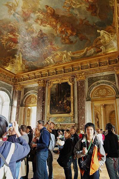 凡爾賽宮-精緻華麗的壁畫