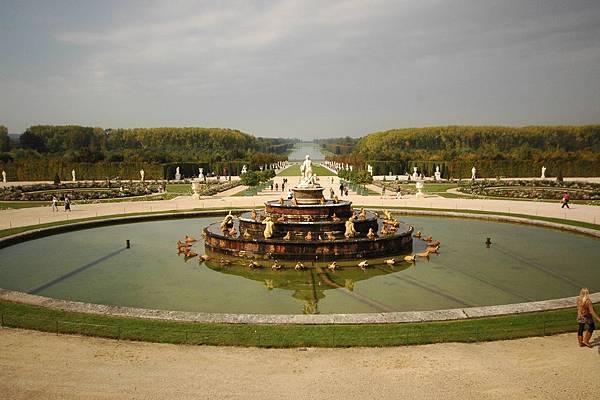 凡爾賽宮的花園-會不會太大了