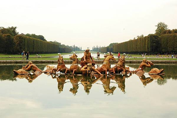 凡爾賽宮的花園