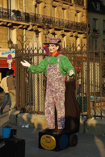 街頭的小丑