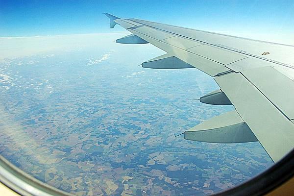 空中鳥瞰壯觀的法國