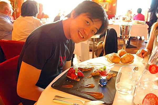 米其林餐廳嘗法國美食: 佳昌點的鵝肝?