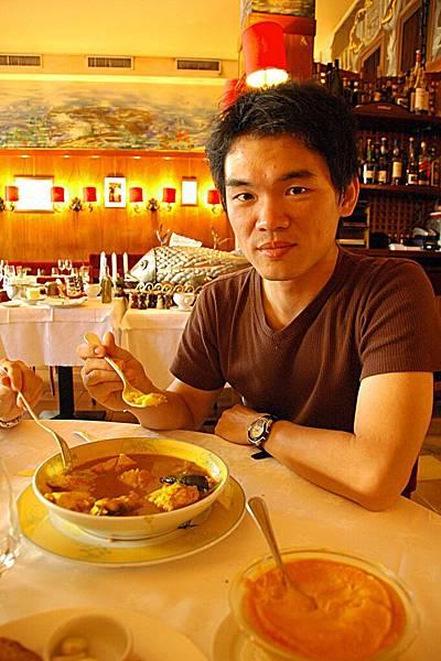 米其林餐廳嘗法國美食: 有名的馬賽魚湯