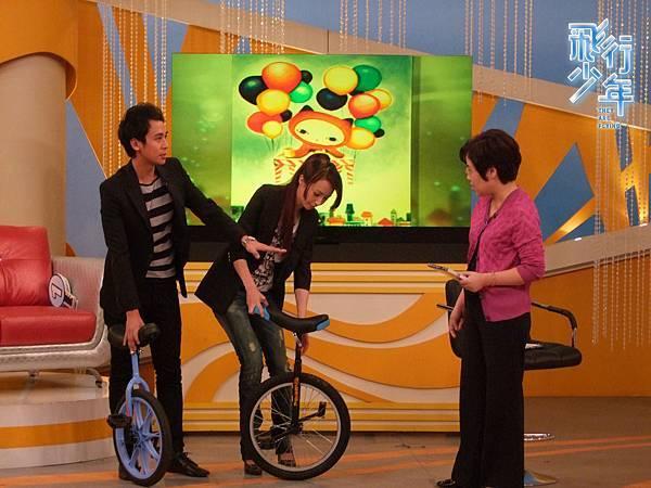 獨輪車教學中