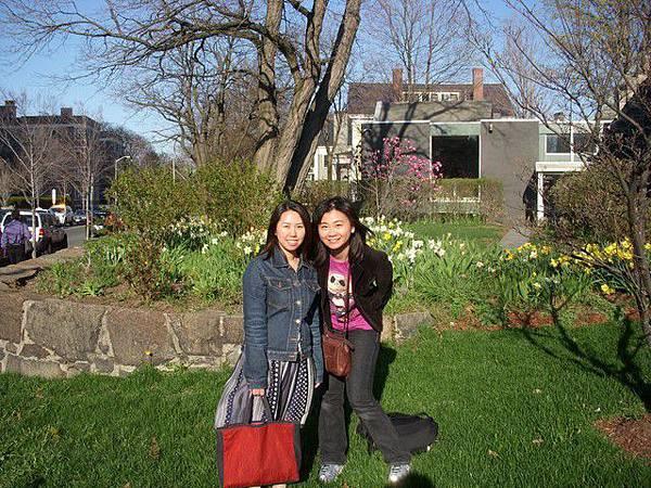 和日本朋友Emiko逛哈佛