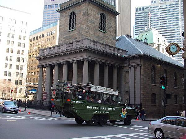 King's Chapel and Duck Tour