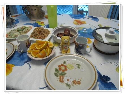 homestay的第一餐 也是在澳洲的第一餐