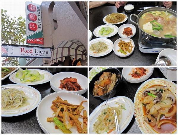 晚餐吃韓國火鍋