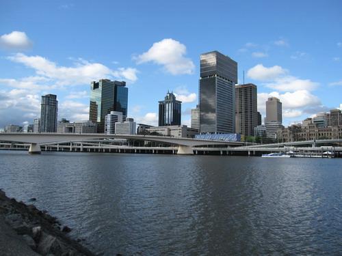 Brisbane city 風景