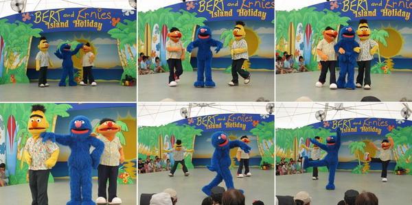 Bert、Ernie和Grover