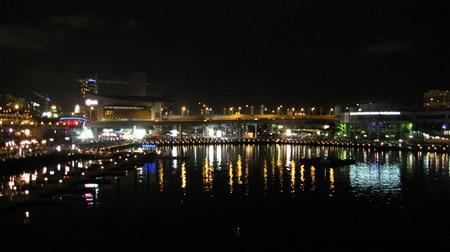 夜晚的IMAX.