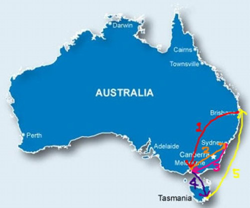 33墨爾本+雪梨+塔斯馬尼亞 跨年嗨翻天 地圖.jpg