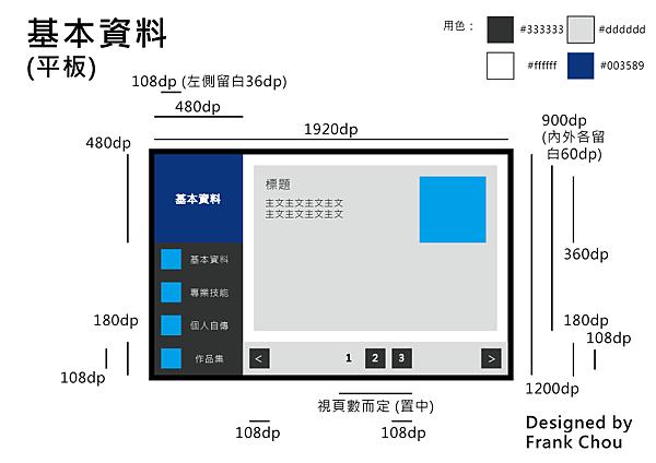 基本資料 (平板)