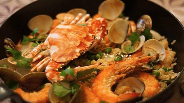 花蟹海鮮燉飯