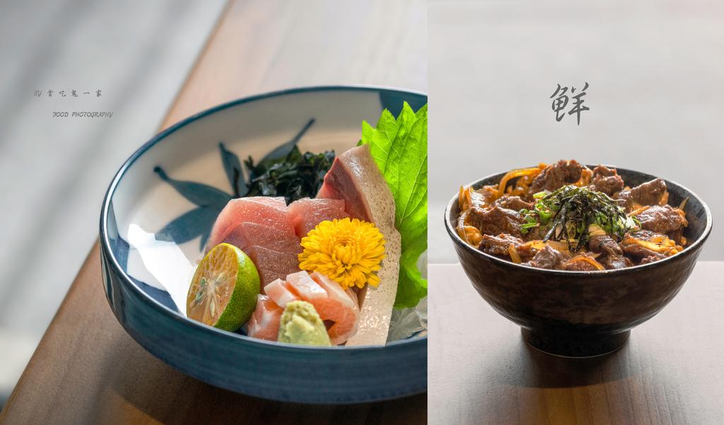 新竹美食。賞壽司|南寮海鮮直送:生魚片、披薩、和牛丼飯,關於我們的日式懷石料理。 @ 貪吃鬼一家