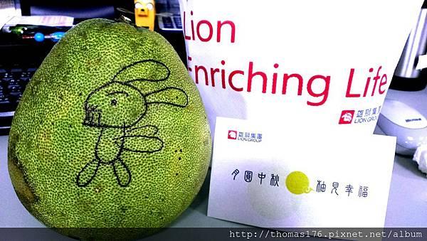 中秋節-柚子