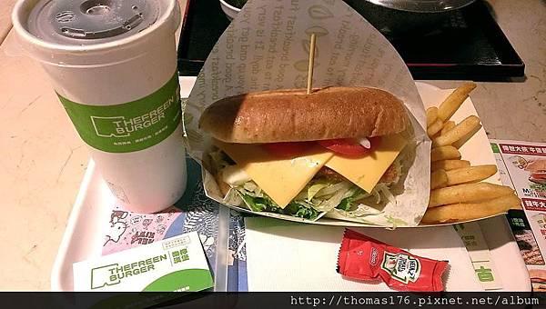 樂檸漢堡:台中中友9
