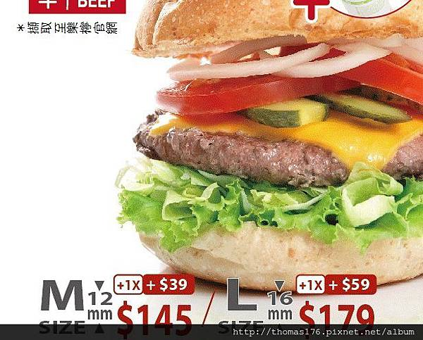樂檸漢堡:台中中友19