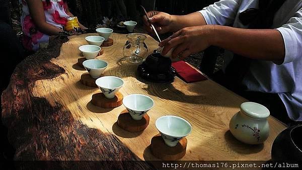 竹林茶席10