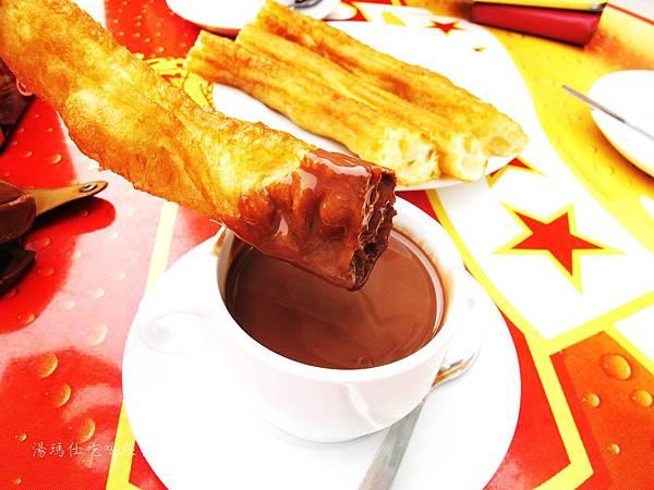 西班牙小吃,西班牙必吃點心,巧克力油條,tobarra小吃_07