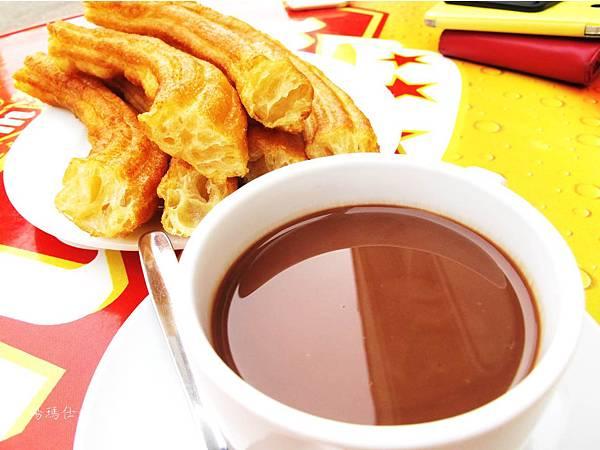 西班牙小吃,西班牙必吃點心,巧克力油條,tobarra小吃_05
