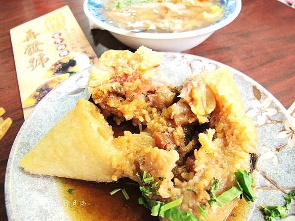 台南必吃小吃,台南好吃肉粽,台南百年老店,再發號肉粽_11