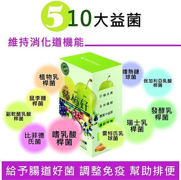 5-10大益菌