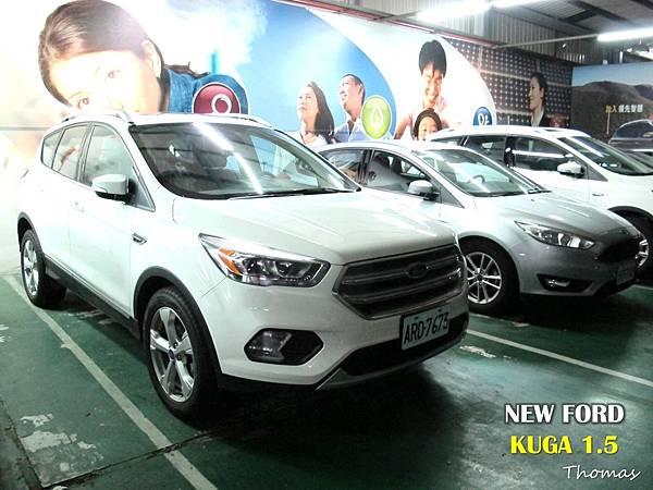 賞車禮,2017福特,FORD NEW KUGA 1.5_10