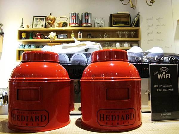 高雄老歐洲咖啡館PRONTO,高雄咖啡館,高雄甜點店,文山特區餐廳_09