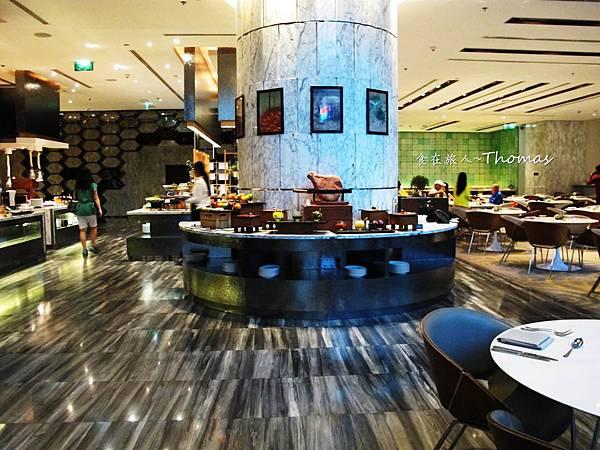 Le Meridien Bangkok,泰國五星酒店,泰國五星自助餐,泰國艾美酒店,美麗殿自助晚餐_02